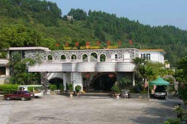 """素有""""仙泉""""美誉的桂林仙家温泉,位于桂林市平乐县源头"""